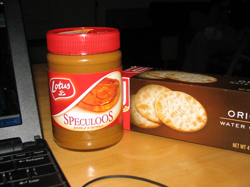 speculoos and water crackers - yum!
