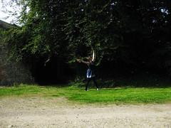 107 (Bonnie Calderwood Aspinwall) Tags: portrait selfportrait tree girl self photography sunny shade teenager bonnie 365 teenage
