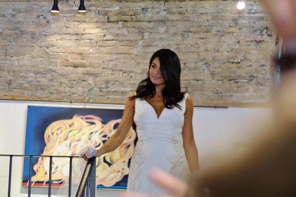 Uscita di Miss Italia Nadia Bengala - Galleria Polid'Arte Spoleto