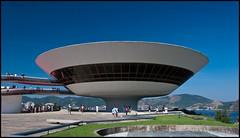 Niteroi - Contemporary Art Museum (Marcio Santos RJ) Tags: museum architecture mac niteroi contemporaryartmuseum oscarniemeyer museudeartecontemporanea