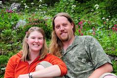 Wildflowers (David M Hogan) Tags: me robin washington nikon wildflowers mtrainiernationalpark plummerpeak d5000
