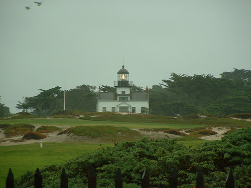 Lighthouse on 17 Mile Drive