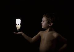 The future is in his hands (matoses) Tags: light boy luz bulb children energy child flash young son nios future pure nio softbox puro hijo strobe dreamcatcher futuro joven bombilla energia hotshoe matoses