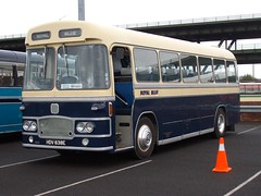 0087-HDV638E-Bristol MW6G-(1433)-Royal Blue. (day 192) Tags: buses bristol sheffield meadowhall royalblue preservedbus mw6g transportrally bristolmw6g southyorkshiretransportrally