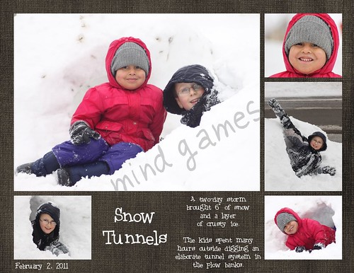 Snow Tunnels Scrap