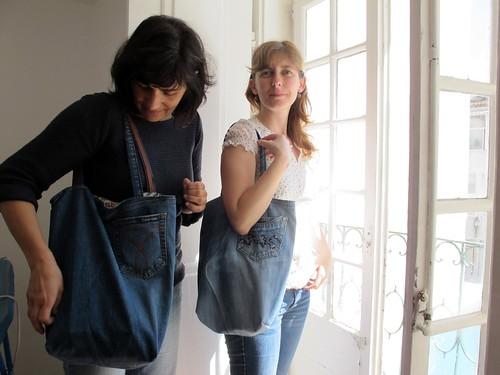 a mala das calças