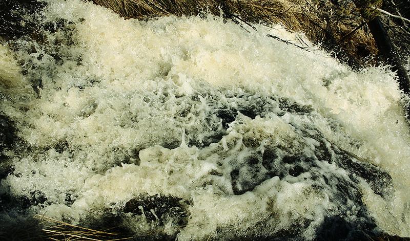 Vattenfall; brudslöjan