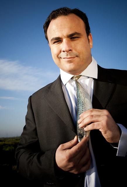 Ángel León con Corbata... de Pescado