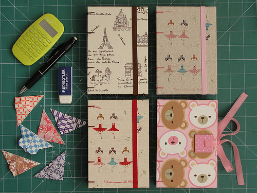 Sketchbooks + Origami Bookmarks