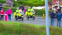 PSNI Vehicles, Giro D'Italia, May 2014 (nathanlawrence785) Tags: psni police car audi antrim giro ditalia gran fondo 2014 british army man sv crane jcb logistics wmik