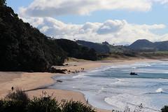 Hot Water Beach (Daniel Menzies) Tags: hotwaterbeach landscape coromandel newzealand beach hotwater spring pool spa seasidespa canon80d canon18135mm ocean surf sea waves surfbeach hotpool diyhotpool sand