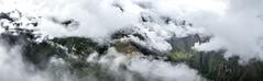 Machu Picchu Valley from Above - Panorama (matiasrquiroga) Tags: mountains montañas panorama panoramica valley peru machu picchu huayna travel trip tour