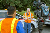 Telling Oregon DOT's story (OregonDOT) Tags: oregondot oregonstatepolice kniferivercorporation workzone workzonesafety construction oregon odot safety patrol enforcement police woodburn interstate5 i5