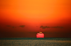 morning has broken (werner boehm *) Tags: wernerboehm redsea rotesmeer egypt sonnenaufgang sunrise