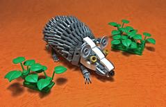 LEGO Mech Hedgehog-01 (ToyForce 120) Tags: lego robot robots mecha mech mechanic legomech legomoc