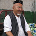 Elderly Uyghur man