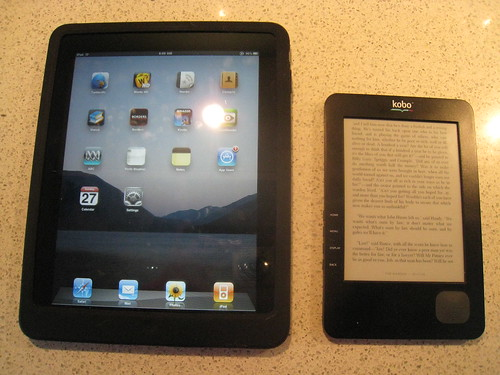 iPad and Kobo