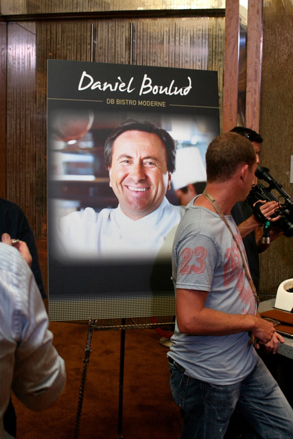 Daniel Boulud will open db Bistro Moderne at the Retail Mall of Marina Bay Sands