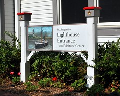 Lighthouse Entrance & Visitors Center
