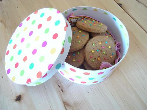 polka dot cookies 2