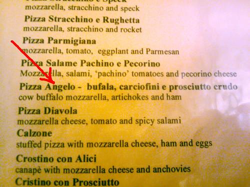 La pizza dello zio