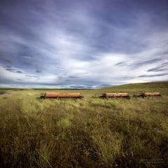 Chariots  of Life (janusz l) Tags: field grass geotagged farm hills equipment international bigsky hdr palouse seeder janusz chariots oflife leszczynski infinestyle geo:lat=4667682 geo:lon=118371657 002742