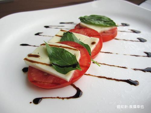 葡萄樹之開胃菜蕃茄起司