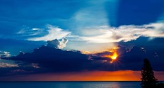 Tropical Sunset-Longboat Key Fla (minds-eye) Tags: sunset sky clouds sunrise florida tropical longboatkey