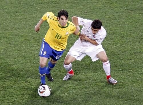 Brasil 3 Chile Mundial Sudáfrica