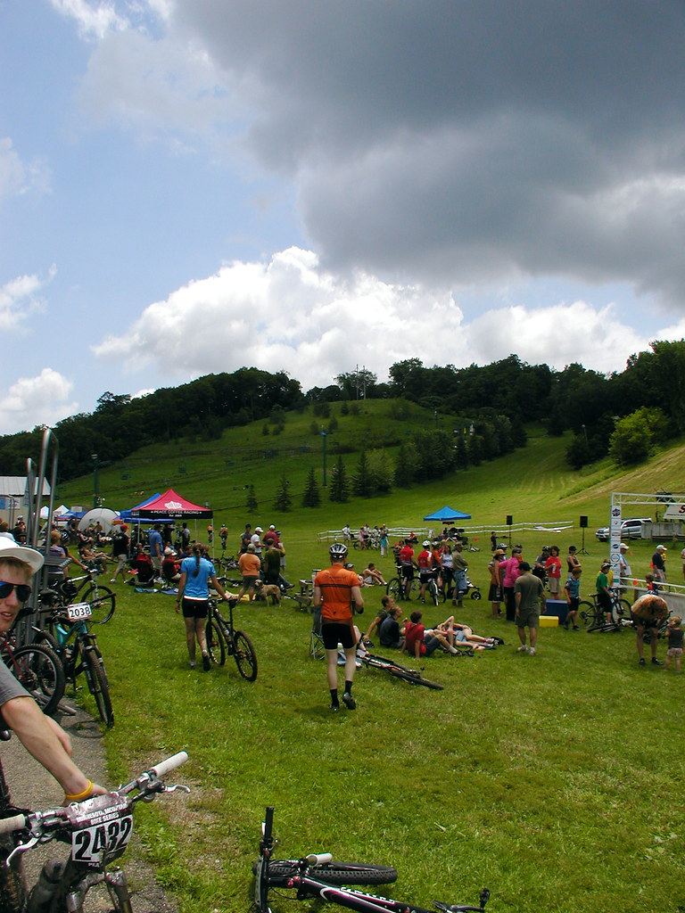 Bluff Riders start/finish area
