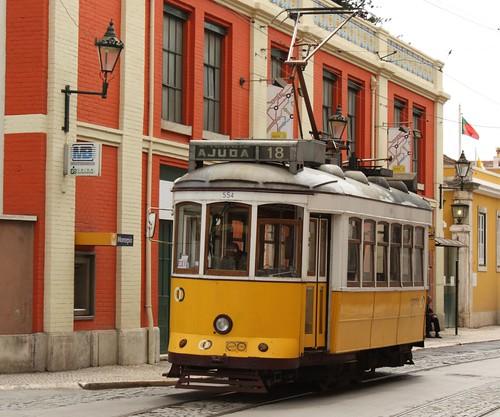 Klasyczny lizboński tramwaj
