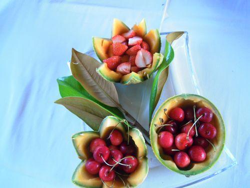 Cestini di frutta, foto di Nicoletta D'Alessandro