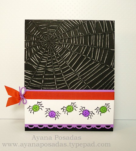 Halloween Card- Spiders (1)