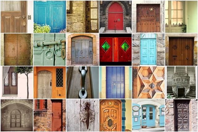 Mosaico puertas