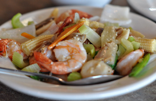 Shrimp Supreme at Golden Wok ~ Austin, TX