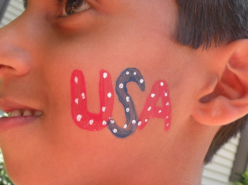 How To: Fourth of July Face Painting blog image 2
