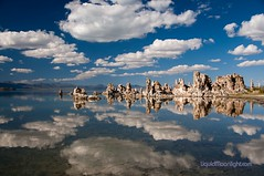 Land of the Sea Monkeys - Mono Lake California (Darvin Atkeson) Tags: california travel lake reflections landscape mono desert towers pass basin volcanic tufa bizarre tioga darvin atkeson levining darv liquidmoonlightcom