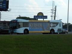 LYNX Bus 656 - Blue (FormerWMDriver) Tags: city blue bus public coach orlando university florida ad transportation transit fl passenger gillig lynx brt keiser lynx656