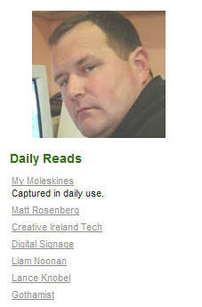 Some Daily Reads from 2004