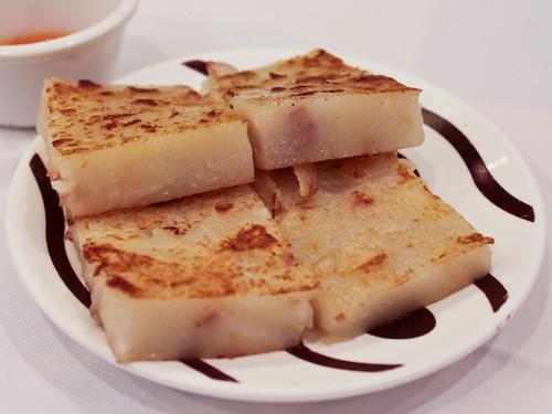 Turnip cakes (稻香超級漁港)