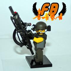 Aliens - Smartgunner 2 (Brick Mercenaries Custom Minifigures) Tags: amazing lego mini creation figure custom armory minifigure moc brickarms brickforge