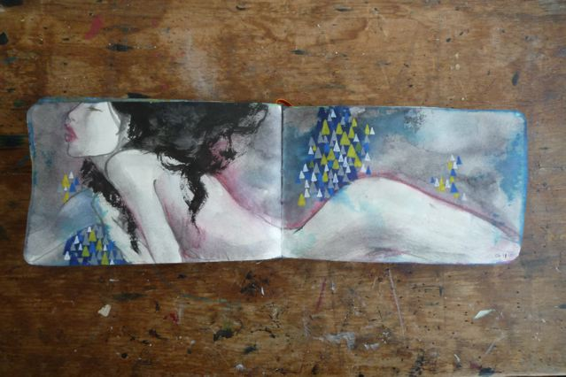 Sketchbook 2010 : Blue Sketchbook - Part 2