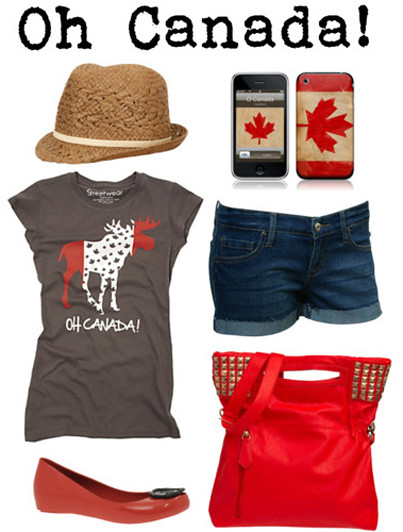 Polyvore: Oh Canada!