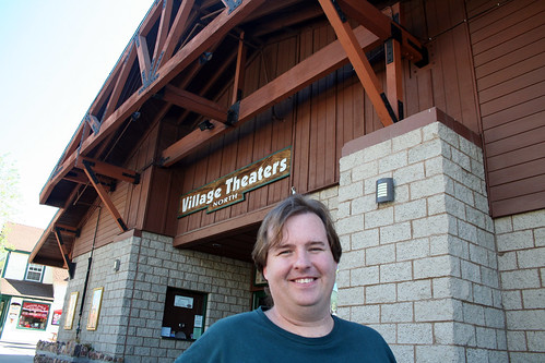 Big Bear Lake - Village Theatres and Mike