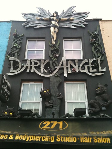 Dark Angel Tattoo and Body Piercing, Camden, London angel tattoos