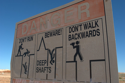 Danger in Coober Pedy
