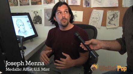 Video Coin Designer Joseph Menna