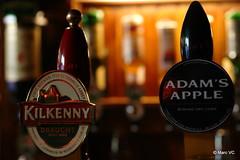 Kilkenny & Adam's Apple (Marc VC) Tags: kilkenny beer cider tap irishpub mechelen grotemarkt adamsapple ofiach ofiachmechelen