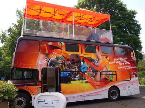 PlayStation Trippledecker on Tour