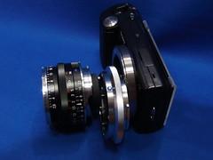 Sony E - Leica M Mount Adapter for NEX-5 (digitalbear) Tags: leica japan lens tokyo sony m mount e adapter nex5 sankoseiki